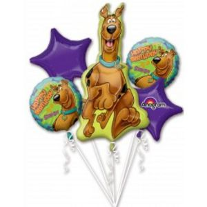Scooby-Doo Foil Balloon Bouquet - Uptown Parties & Balloons