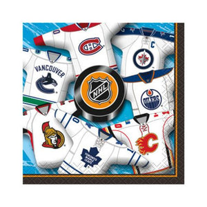 NHL Beverage Napkin