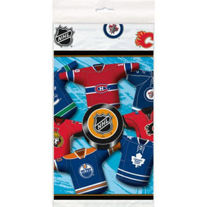 NHL Tablecover - Uptown Parties & Balloons