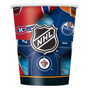 NHL 9oz Cups - Uptown Parties & Balloons