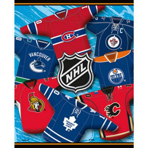NHL Loot Bags - Uptown Parties & Balloons