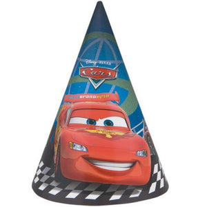 Cars Party Hats - Uptown Parties & Balloons