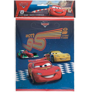 Cars Loot Bags - Uptown Parties & Balloons