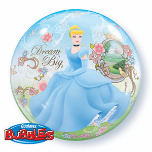 Cinderella Dream Big Bubble - Uptown Parties & Balloons