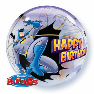 Batman Bubble - Uptown Parties & Balloons