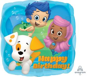 Bubble Guppies Happy Birthday - Uptown Parties & Balloons