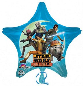 Star Wars Star SuperShape - Uptown Parties & Balloons