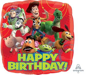 Toy Story Happy Birthday - Uptown Parties & Balloons