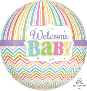 Welcome Baby Orbz - Uptown Parties & Balloons