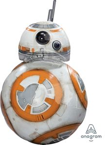 Star Wars BB8 SuperShape - Uptown Parties & Balloons