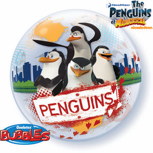 The Penguins Of Madagascar Bubble