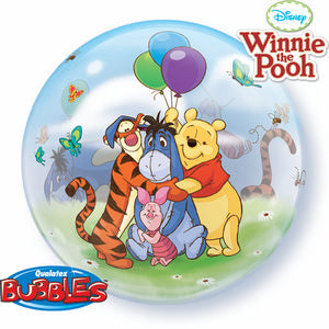Winnie The Pooh Bubble - Uptown Parties & Balloons
