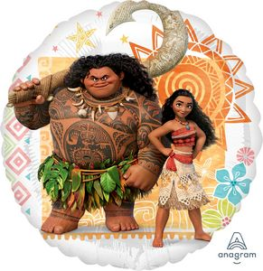 "18"" Moana - Uptown Parties & Balloons"