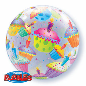 Cupcakes Bubble - Uptown Parties & Balloons