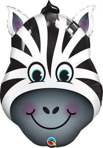 Zany Zebra SuperShape