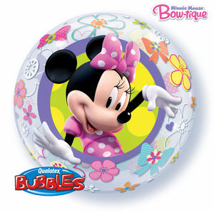 Minnie Mouse Bow-tique Bubble - Uptown Parties & Balloons