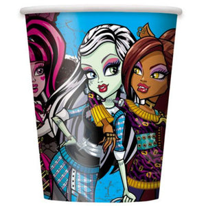 Monster High 9oz Cups - Uptown Parties & Balloons