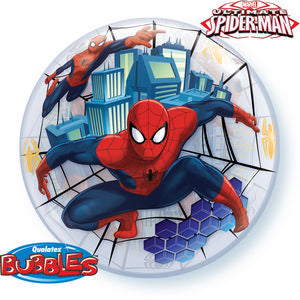 MARVEL'S Ultimate Spider-Man Bubble - Uptown Parties & Balloons