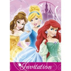 Disney Princess Invitations - Uptown Parties & Balloons