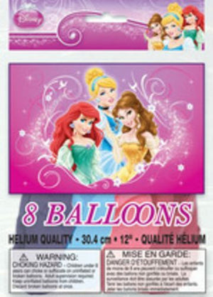 Disney Princess Latex Balloons - Uptown Parties & Balloons