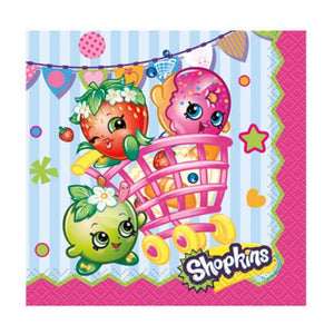 Shopkins Beverage Napkins - Uptown Parties & Balloons
