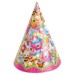 Shopkins Party Hats - Uptown Parties & Balloons