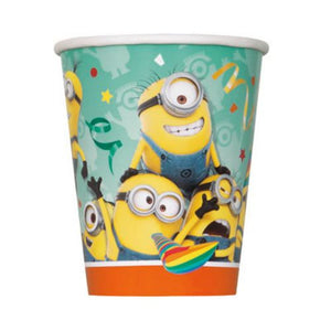 Despicable Me 9oz Cups - Uptown Parties & Balloons