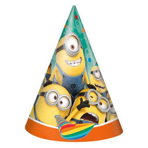 Despicable Me Party Hats - Uptown Parties & Balloons