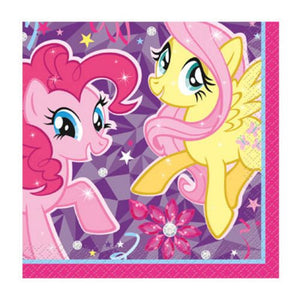 My Little Pony Beverage Napkin - Uptown Parties & Balloons