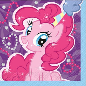 My Little Pony Lunch Napkin - Uptown Parties & Balloons