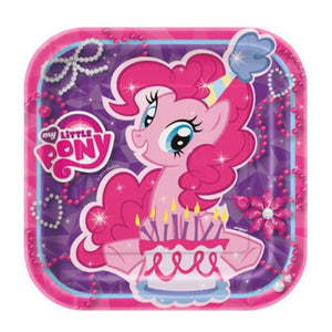 "My Little Pony 7"" Plates - Uptown Parties & Balloons"