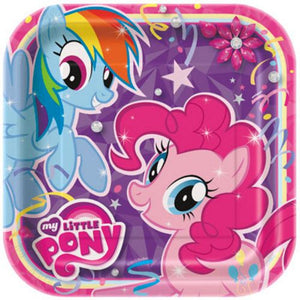 "My Little Pony 9"" Plates - Uptown Parties & Balloons"