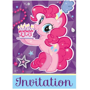 My Little Pony Invitations - Uptown Parties & Balloons