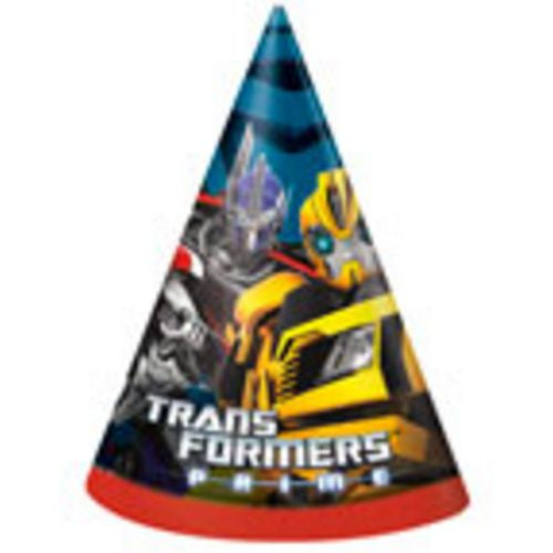 Transformers Party Hats - Uptown Parties & Balloons