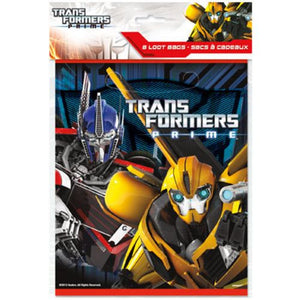 TRANSFORMERS LOOTBAGS - Uptown Parties & Balloons