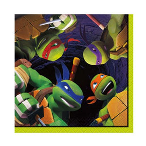 Teenage Mutant Ninja Turtles Beverage Napkins - Uptown Parties & Balloons
