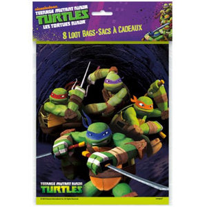 Teenage Mutant Ninja Turtles Loot Bags - Uptown Parties & Balloons