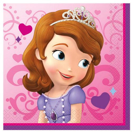 Sofia The First Lunch Napkins