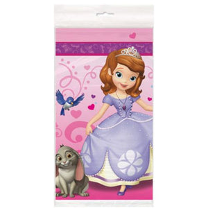 Sofia The First Tablecover - Uptown Parties & Balloons