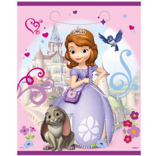 Sofia The First Loot Bags - Uptown Parties & Balloons