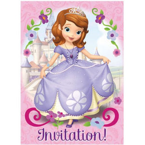 Sofia The First Invitations - Uptown Parties & Balloons