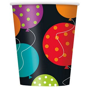 Birthday Cheer 9oz Cups - Uptown Parties & Balloons