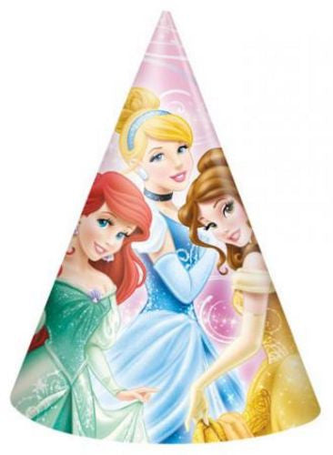 Disney Princess Party Hats - Uptown Parties & Balloons