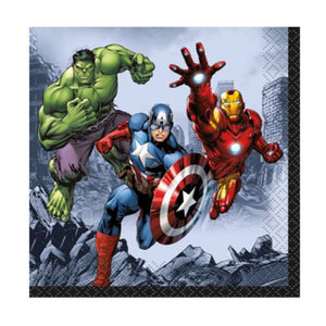 Avengers Beverage Napkins - Uptown Parties & Balloons