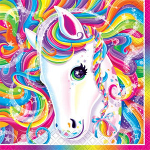 Rainbow Majesty Beverage Napkins - Uptown Parties & Balloons