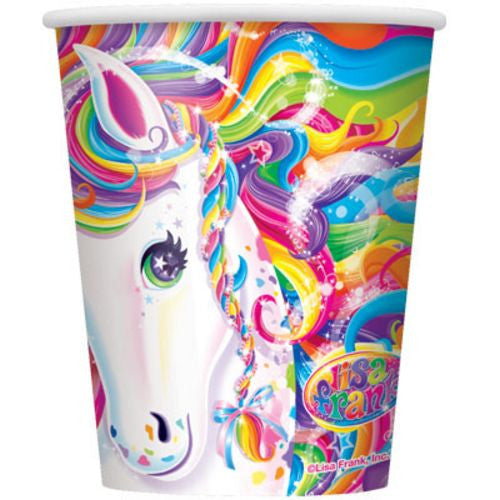 Rainbow Majesty 9oz Cups - Uptown Parties & Balloons