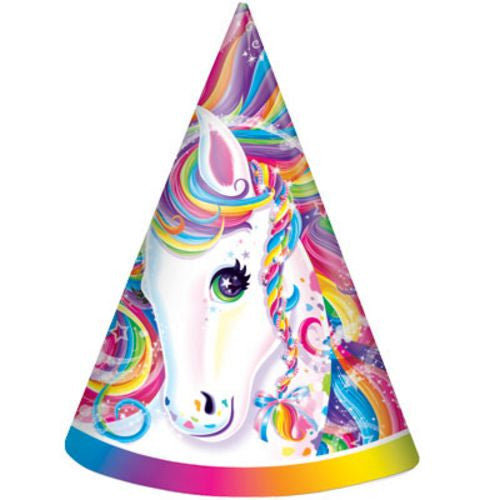 Rainbow Majesty Party Hats - Uptown Parties & Balloons