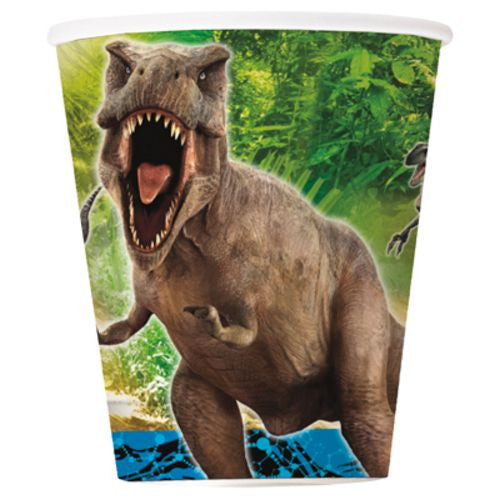 Jurassic World 9oz Cups - Uptown Parties & Balloons