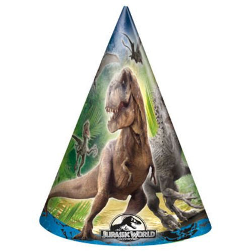 Jurassic World Party Hats - Uptown Parties & Balloons