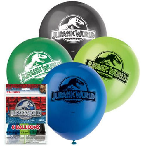 Jurassic World Latex Balloons - Uptown Parties & Balloons